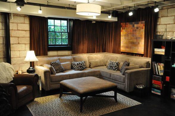 industrial unfinished basement remodel ideas pinterest