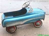 Vintage Antique Toy Pedal Car 1950- 1960 My little sister had one & I always stole it.