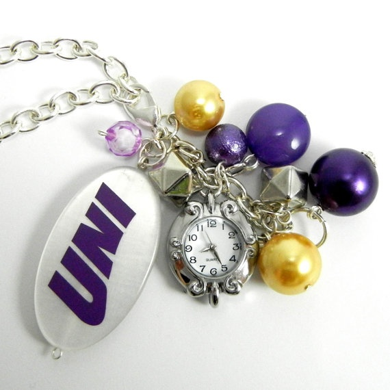 UNI bag bling - charms with a watch