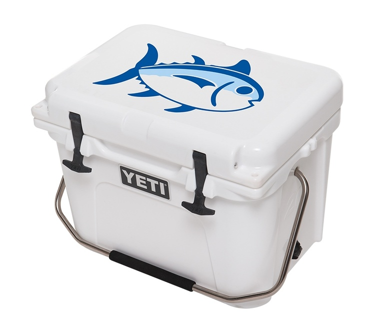Skipjack YETI Cooler available in 20, 35 & 45 Qt in White.