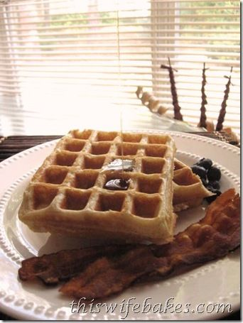 Brown Sugar Cinnamon Waffles | AM Eye Opener - Sweet | Pinterest