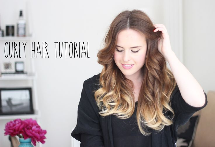 NO HEAT | CURLY #HAIR #TUTORIAL | Hair Styles | Pinterest