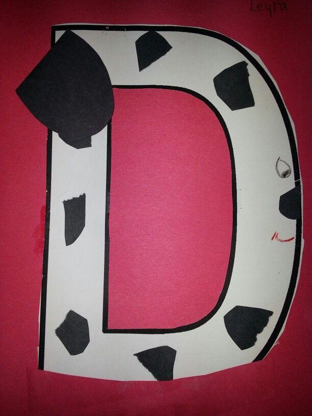 No 57 >> D is for dalmatian dog   ABC activities   Pinterest