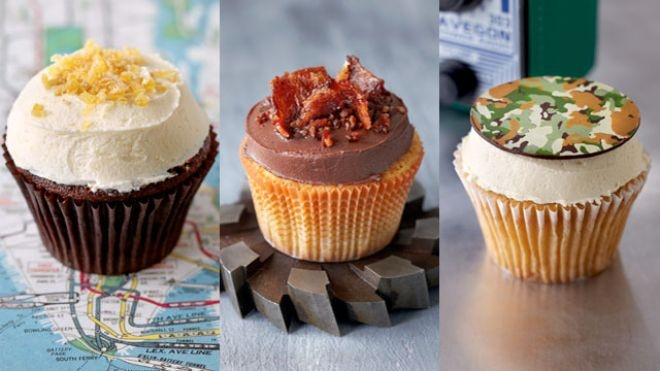 Bakery makes real cupcakes for real men