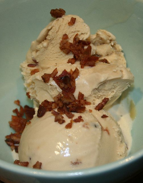 candied bacon ice cream | food > sweets > ice cream & frozen treats...