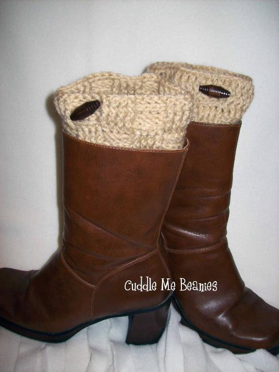 Crochet Hat Pattern With Cuff : Boot Cuff Crochet Pattern DIY Pinterest