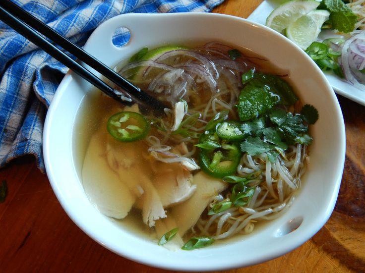 Pho Ga Vietnamese Chicken Noodle Soup Recipe — Dishmaps