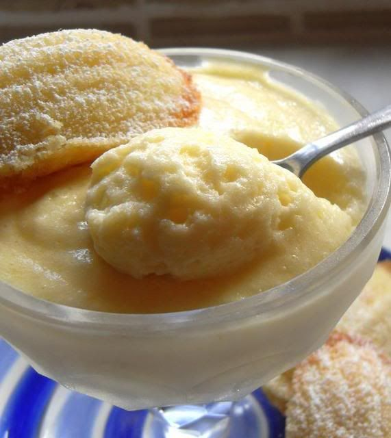 Lemon Mousse with Lemon Madeleines!!