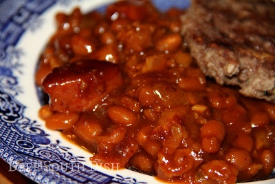 - Make a jump from beefed up barbecue baked beans with beef, bacon ...
