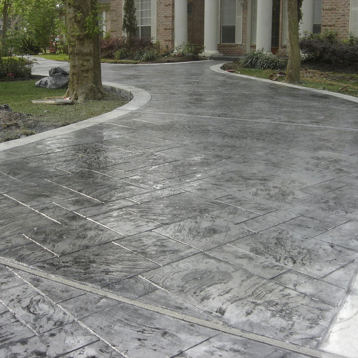 Concrete paint for the home pinterest Exterior concrete floor coatings