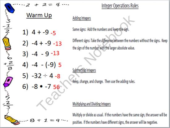 Pin By Melissa Paar On Math Lessons Activities Pinterest