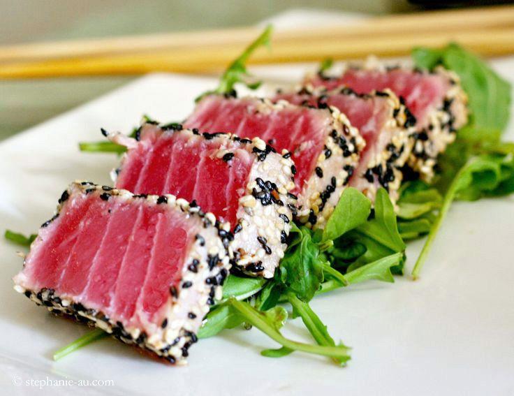 Seared Tuna with Avocado.jpg | Fish | Pinterest