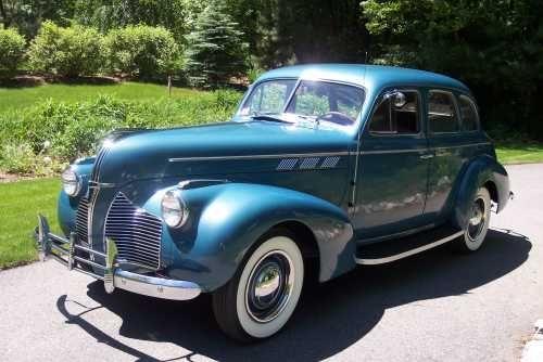 1940 pontiac special 4 door sedan vintage for 1940 pontiac 2 door sedan