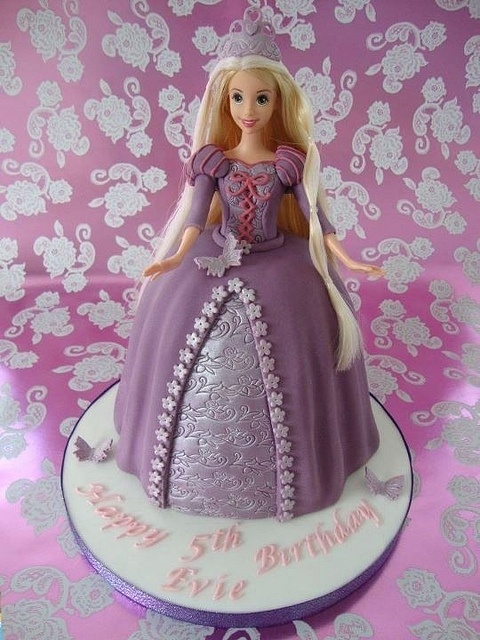 Rapunzel Cake, via Flickr.