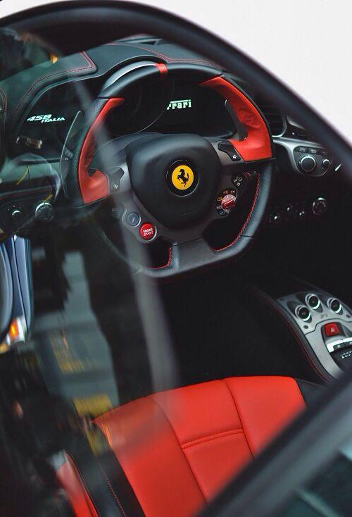 2014 Ferrari 458 Italia Interior Drivers View Photo 8 Only For Cars