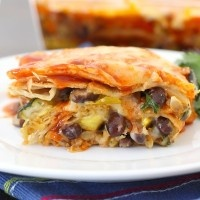 Baked Polenta Pie   Recipe
