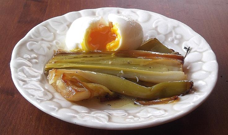 Olive-Oil-Braised Leeks with Thyme | Food & drink | Pinterest