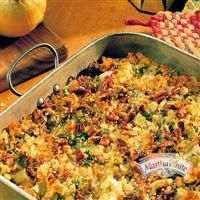 Cornbread Sausage #Dressing with Apples and Pecans from Martha White ...