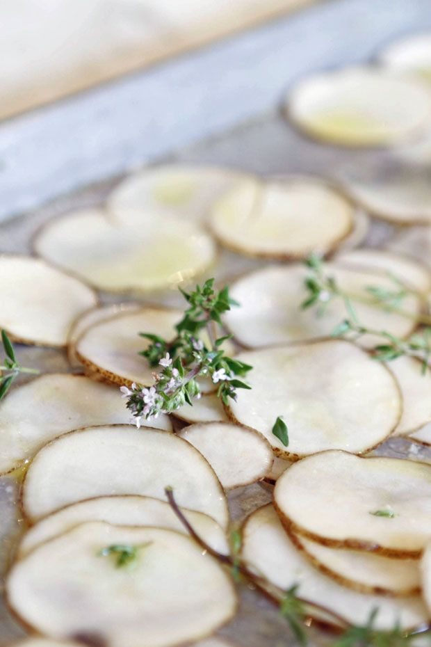 Oven-Fried Potato Chips | Eat • Drink • Garden • Santa Barbara ...
