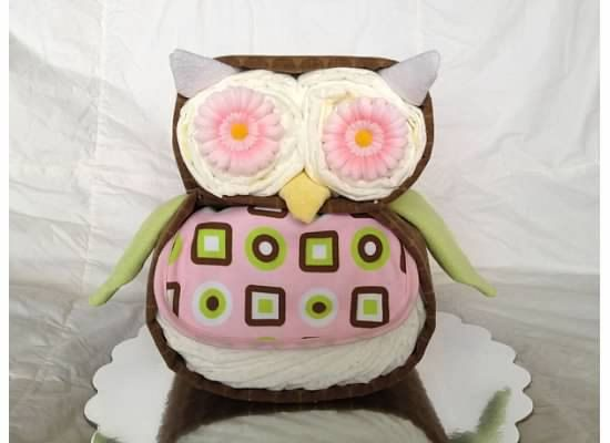 this test shop has great non traditional diaper cakes like this