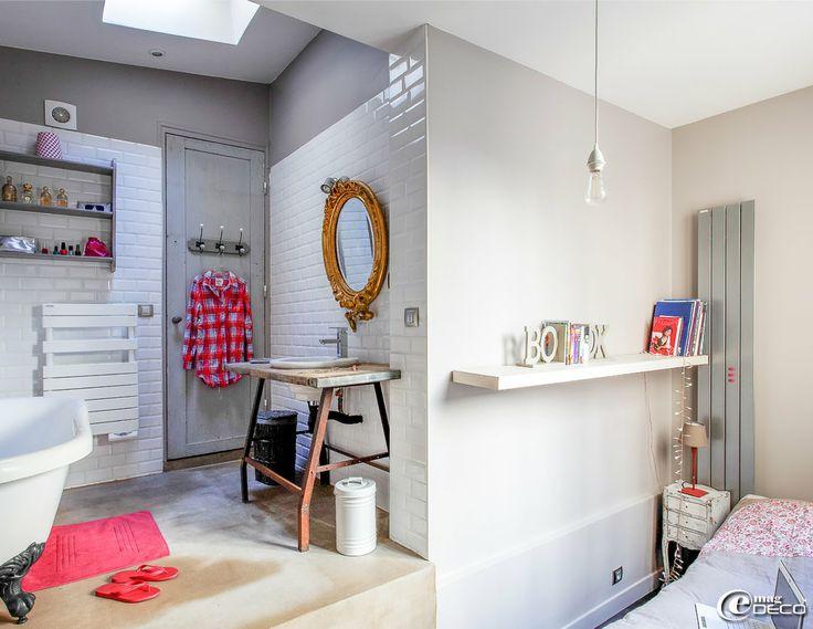 e-magDECO : Magazine de décoration: Un loft parisien lové autour d'une cour