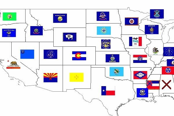 states flags of the united states