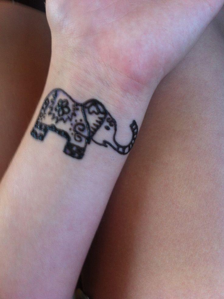 Easy elephant henna tattoo elephant henna tattoo