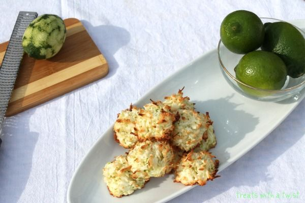 Coconut Lime Macaroons | Healthy Eats/Recipes | Pinterest