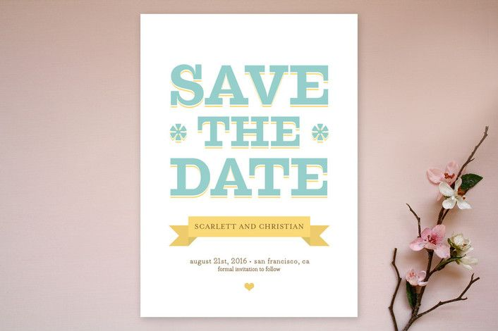 Summer Love Save the Date Cards by Waui Design at minted.com