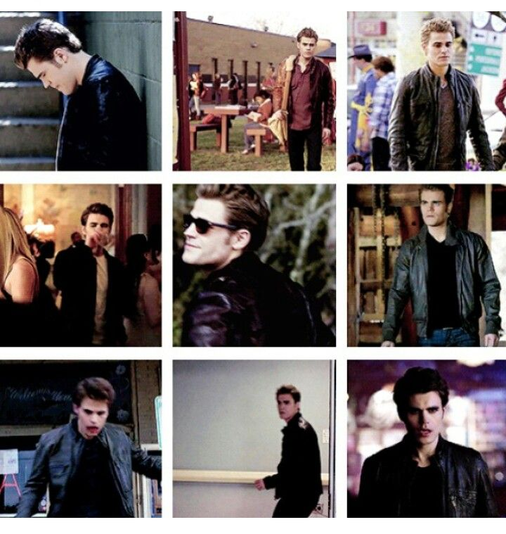 Stefan in his leather ...