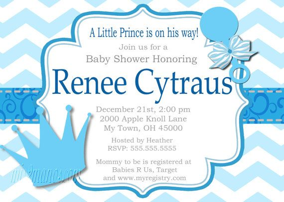 little prince baby shower invitation digital file baby shower invites