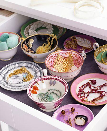 Beautiful drawer organization!