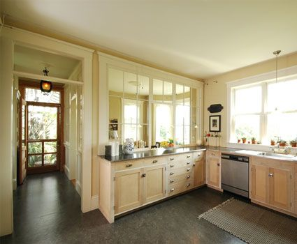 Kitchen with no upper cabinets for the home pinterest for Kitchen designs without windows