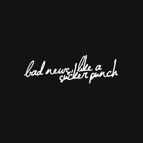bastille bad news lyric