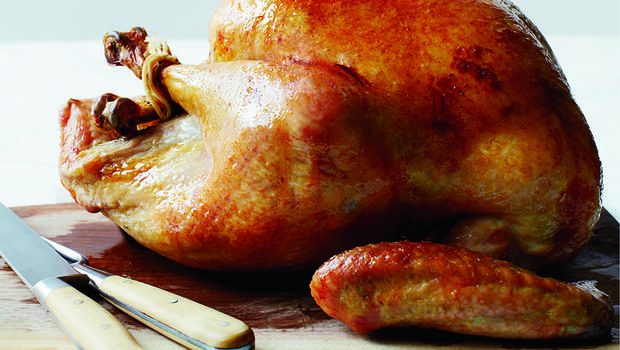 Recipe: Slow-Roasted Turkey with Herb Salt