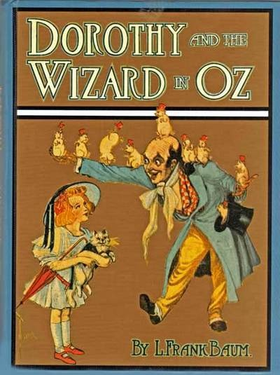 """May 15th: L.Frank Baum was born on this day in 1856. He wrote a book entitled, """"Dorothy and the Wizard of Oz."""" I believe it was turned into a movie of some sort. ;-)"""