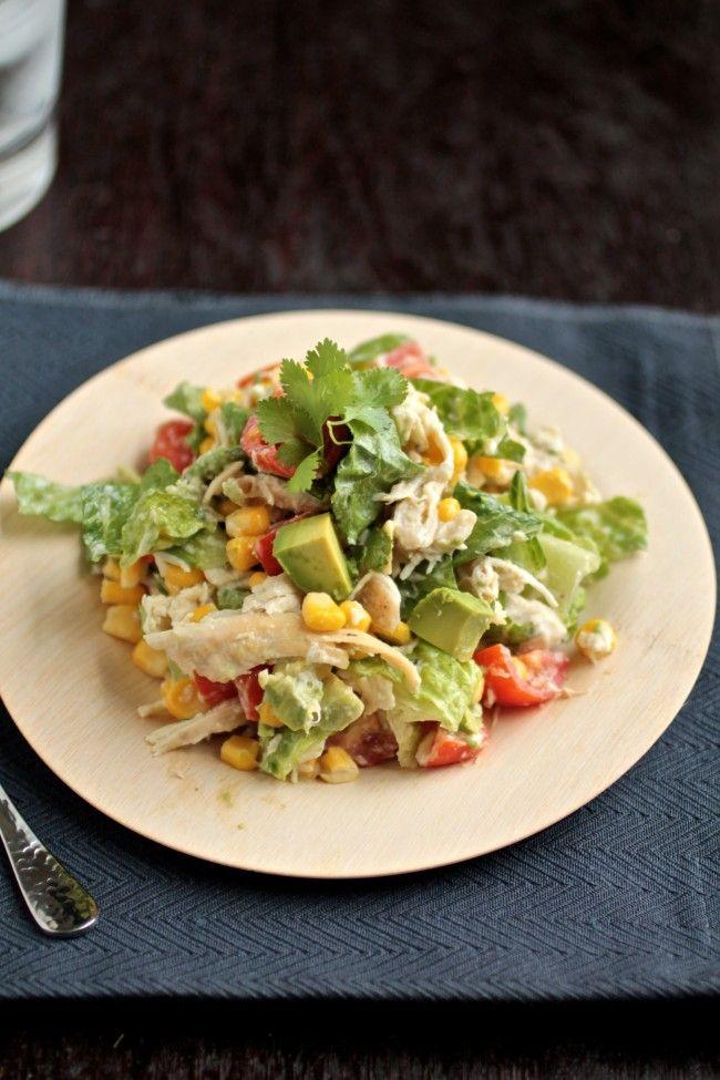 Cilantro Chicken Chopped Salad | Recipe