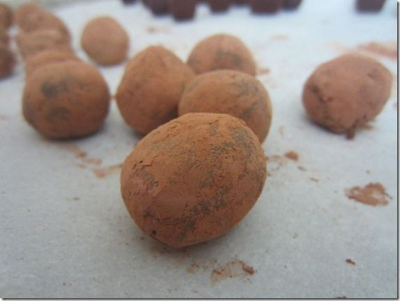 Balsamic Vinegar Chocolate Truffles | Home for the holidays | Pintere ...