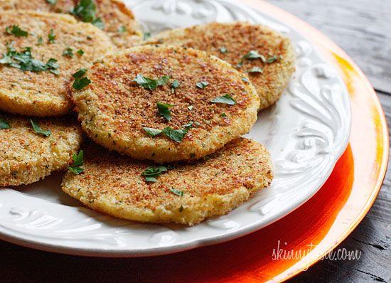 Leftover Parmesan Mashed Potato Patties Skinnytaste.com Servings: 4 ...