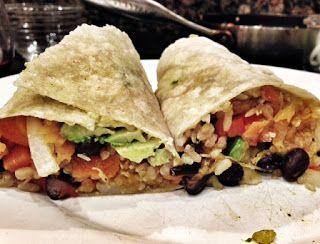 Black Bean and Butternut Squash Burritos | Vegan | Pinterest