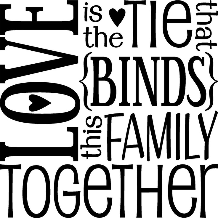 Cute Family Sayings