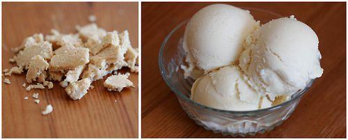 Halva Ice Cream | Flavor of the Day | Pinterest