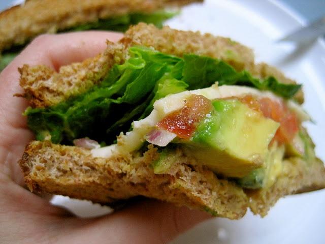 Avocado Cheddar Sandwich | Food/Drinks I