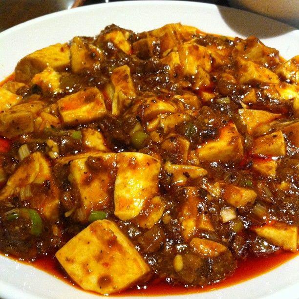 麻婆豆腐. Very very HOT!!! | Grab A Bite | Pinterest
