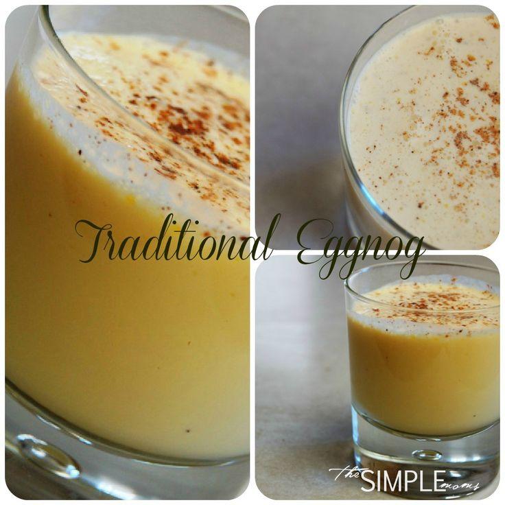 real food egg nog heavy cream whole milk egg yolks honey maple syrup ...