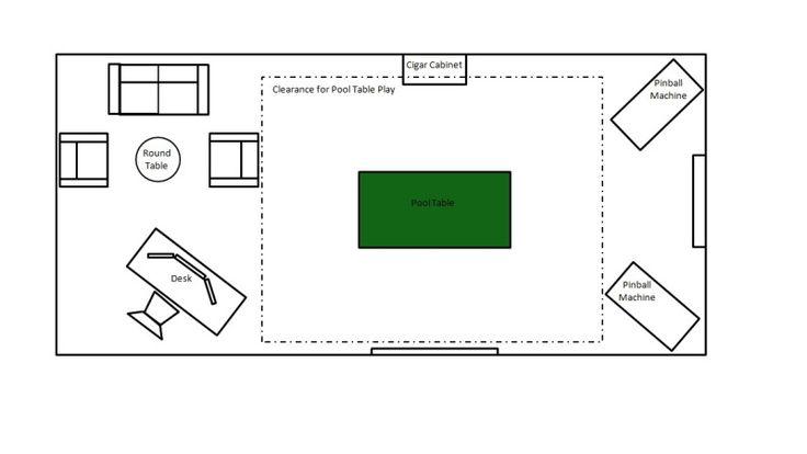 Floor plan for Small house ventilation design