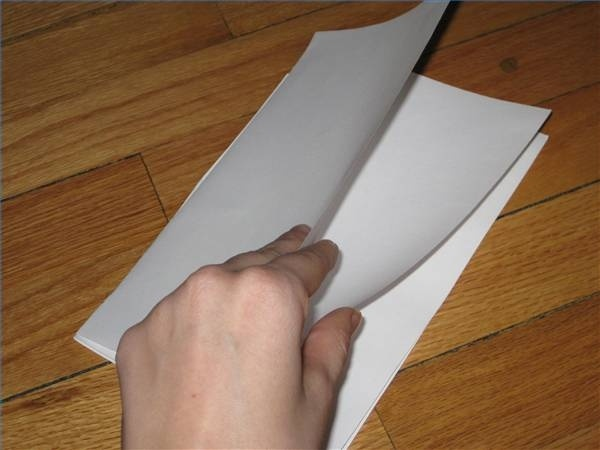how to make a booklet out of a3 paper