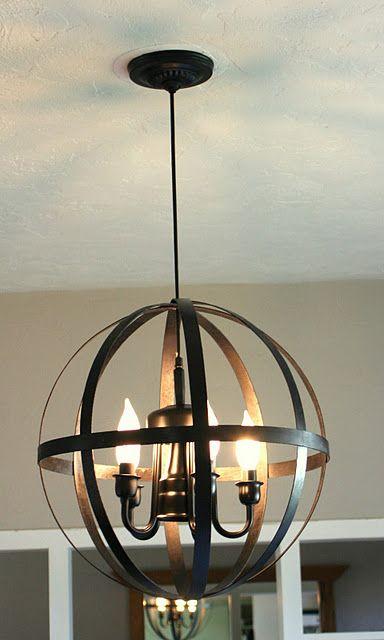 Diy Light Fixture My House Is A Home Pinterest