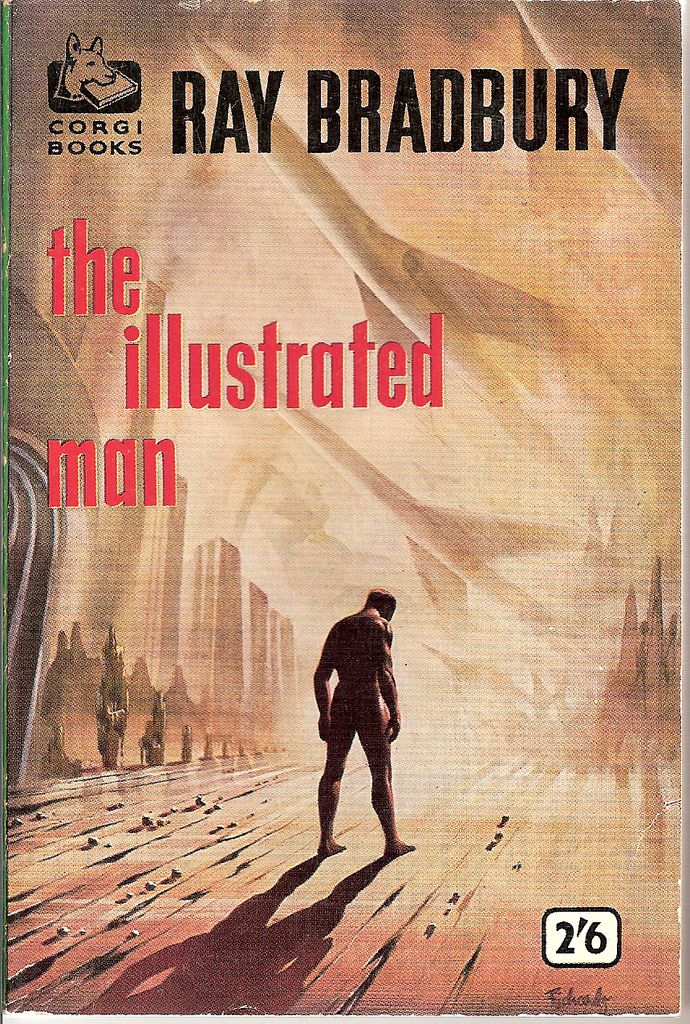 Illustrated Book Cover Up ~ The illustrated man book cover books worth reading