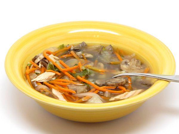 Asian Turkey Soup (Crock Pot) | comfort... SOUP | Pinterest